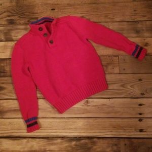 Lands End Red Sweater